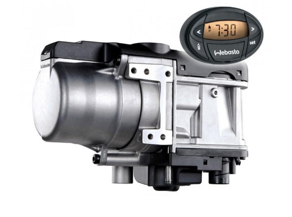 Webasto Thermo Top Evo Start 5 кВт 12V (дизель) + таймер 1533 в комплекте